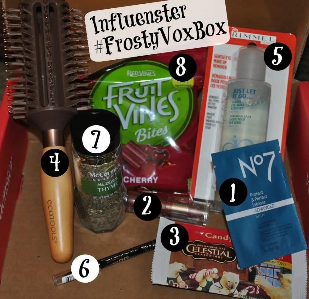 What's inside my Influenster Frosty VoxBox? #FrostyVoxBox