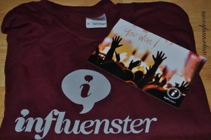 Catch the Moment 365 - Day 83 - Influenster Shirt Win