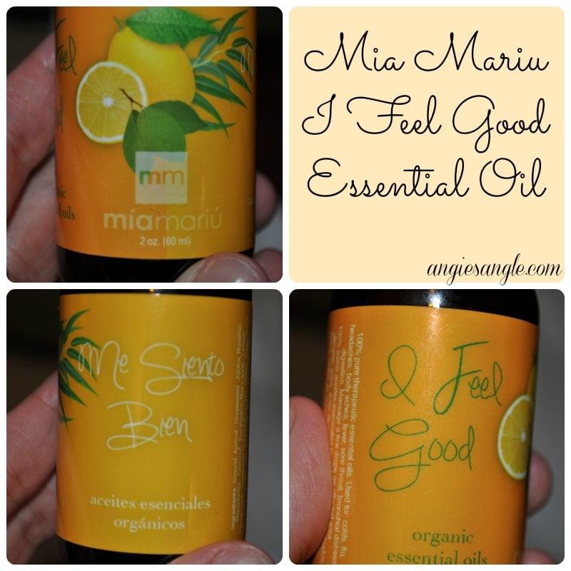 Mia Mariu I Feel Good Essential Oil #MiaMariu #Giveaway 4/8