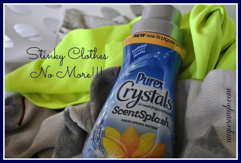 Freshen Your Clothes with Purex Crystals ScentSplash #purexcrystals #giveaway ends 4/30/15