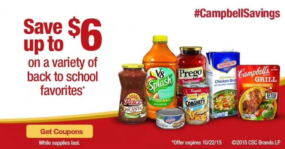 Second Chance For Campbells Savings #CampbellSavings #CollectiveBias