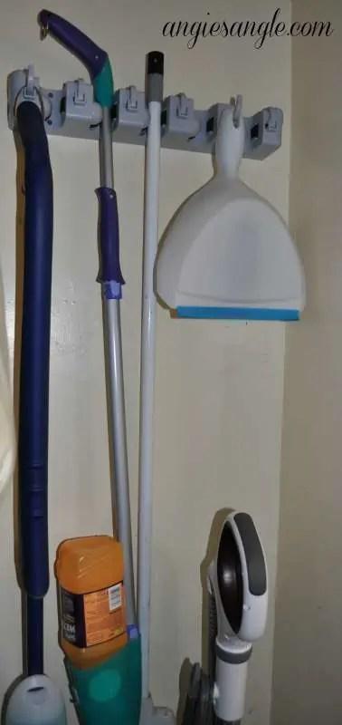 Mop and Broom Organizer Long Length