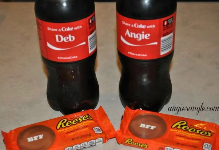 Pampering and Sharing With The Best Friend - Coke and Reeses Best Friends