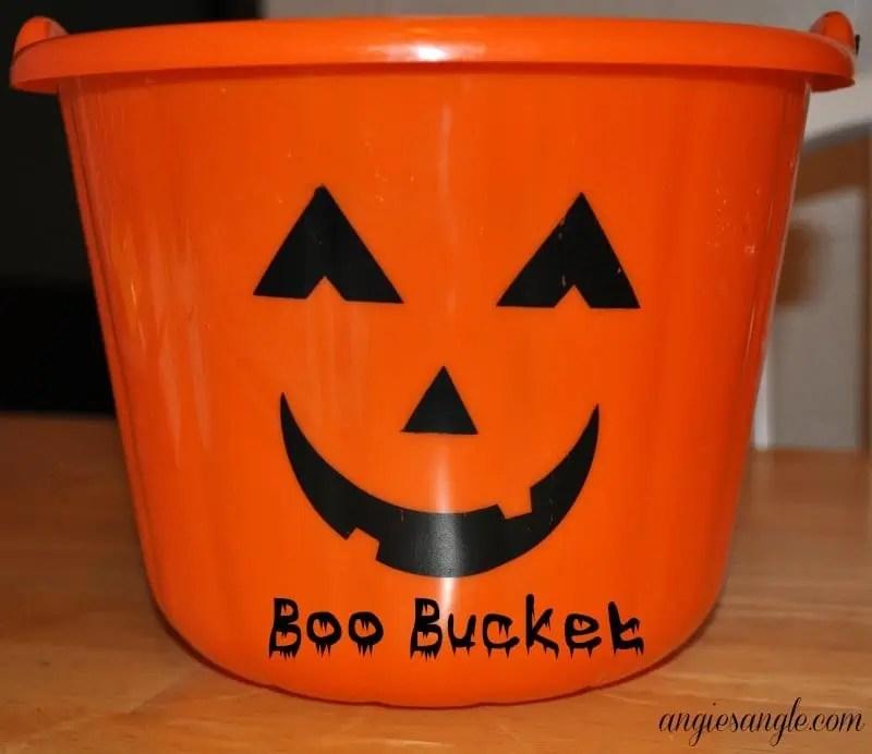 Boo Your Neighbor - Boo Bucket