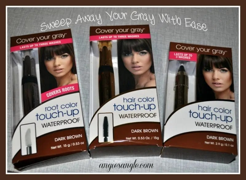 Sweep Away Your Gray With Ease #BeautyMonday
