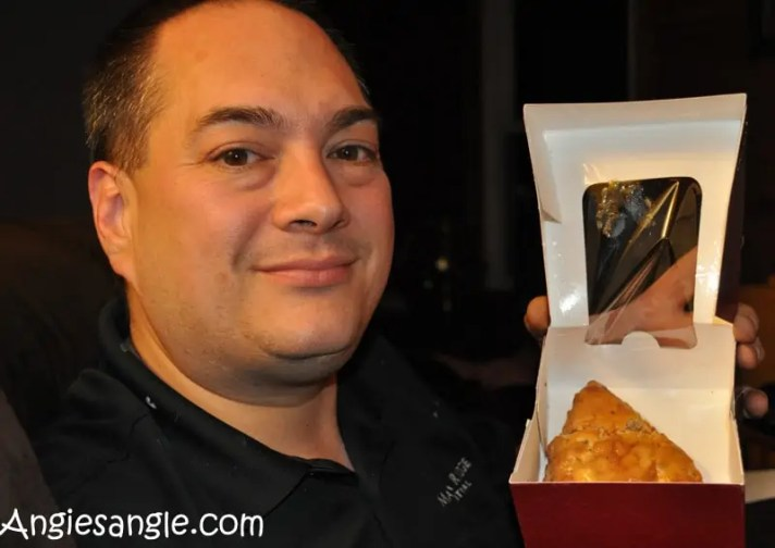 Catch the Moment 365 - Day 316 - Jasons Birthday Dessert