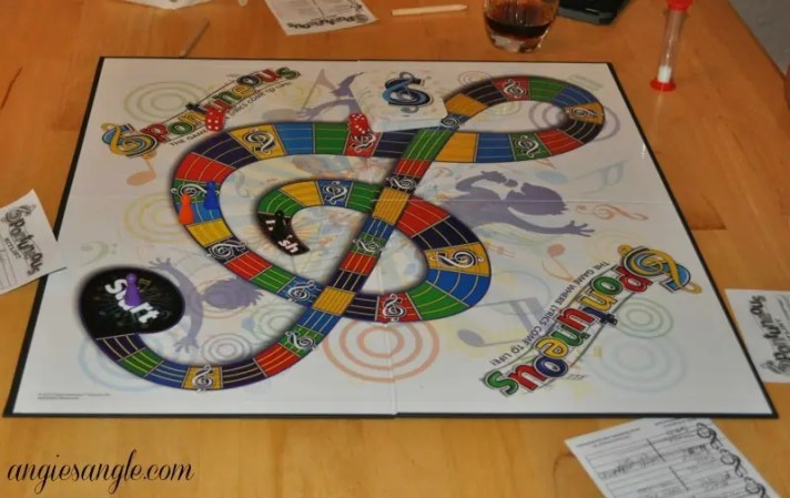 Have You Heard Of The Game Spontuneous - board