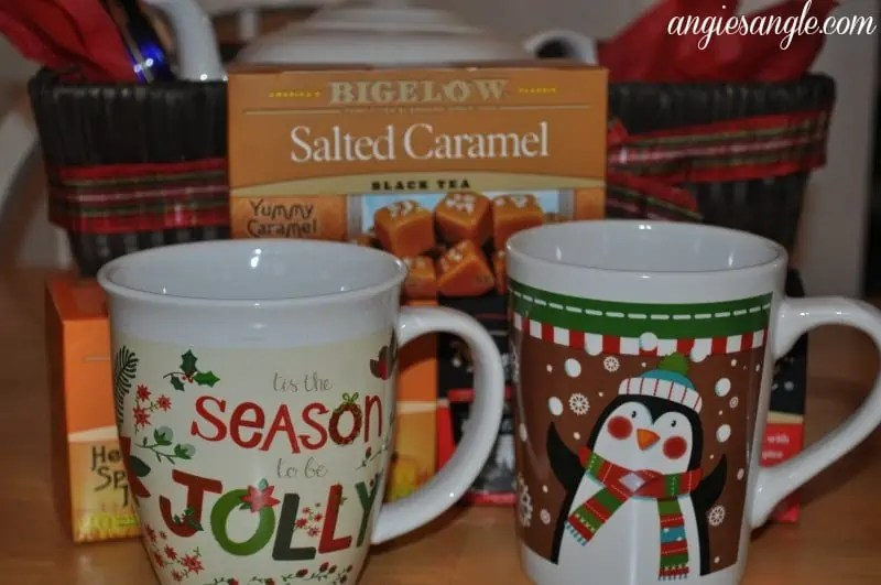 How To Make A Tea Lovers Basket - Mugs For Two