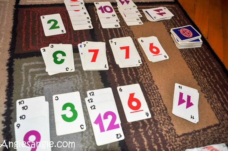 Catch the Moment 365 - Day 359 - SkipBo Game