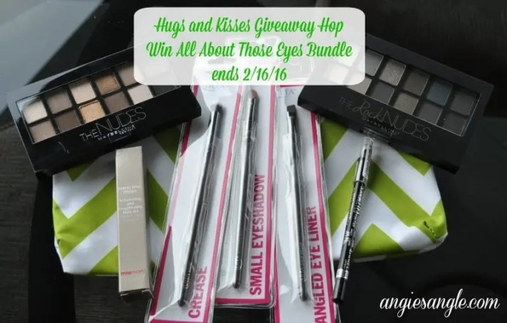Hugs and Kisses Giveaway Hop - All About Those Eyes Bundle