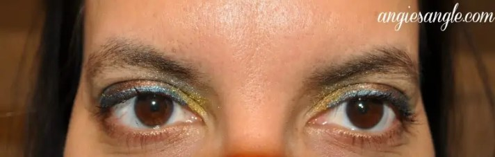 Colorful Eyes That Pop - Finished Look