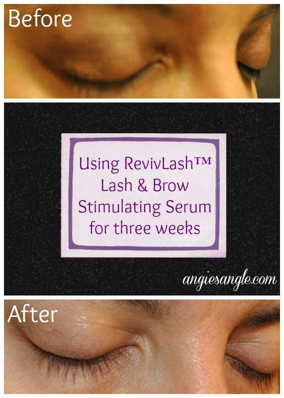 My Results With RevivLash #BeautyMonday