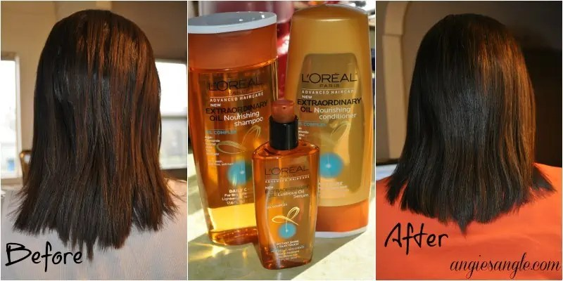 My Results With L'Oreal Extraordinary Oil Hair Care #BeautyMonday