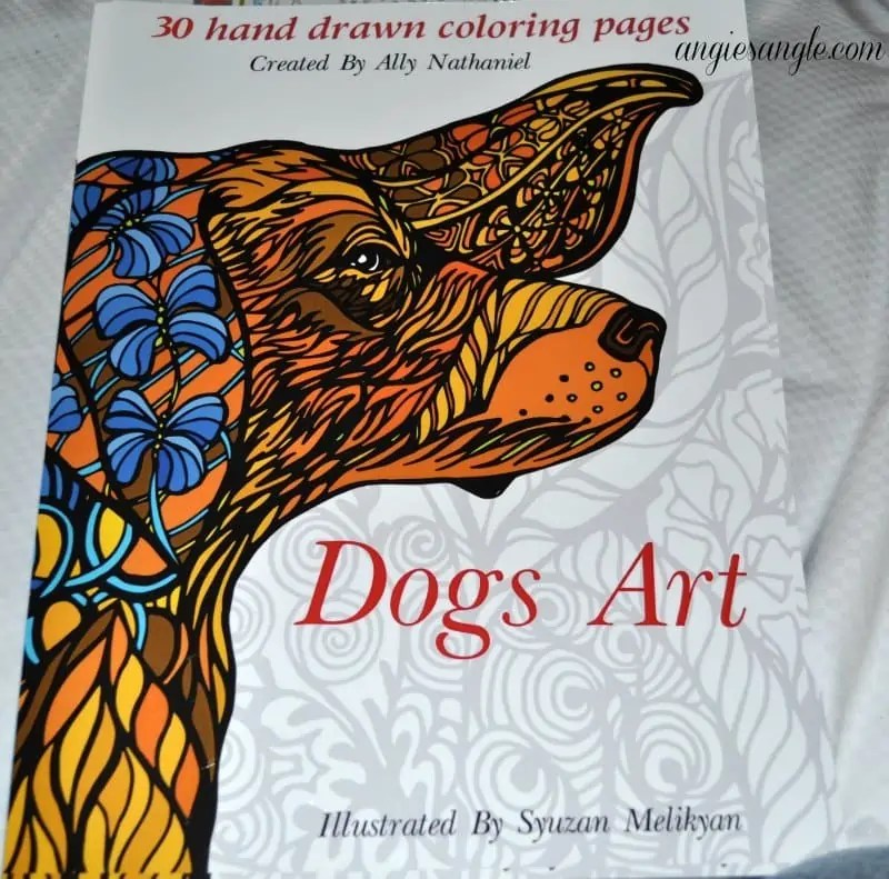 Dogs Art Coloring Book - Cover