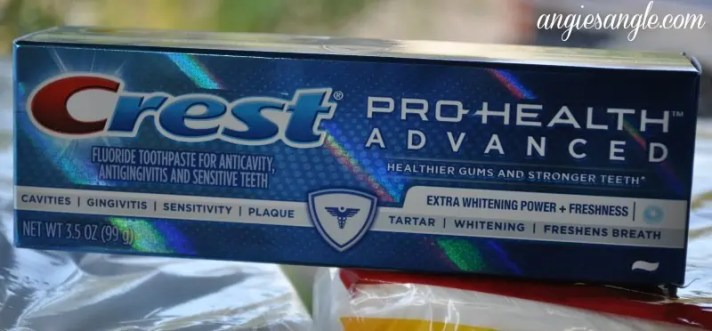 P&G Products From Walmart - Crest Pro Health Advanced