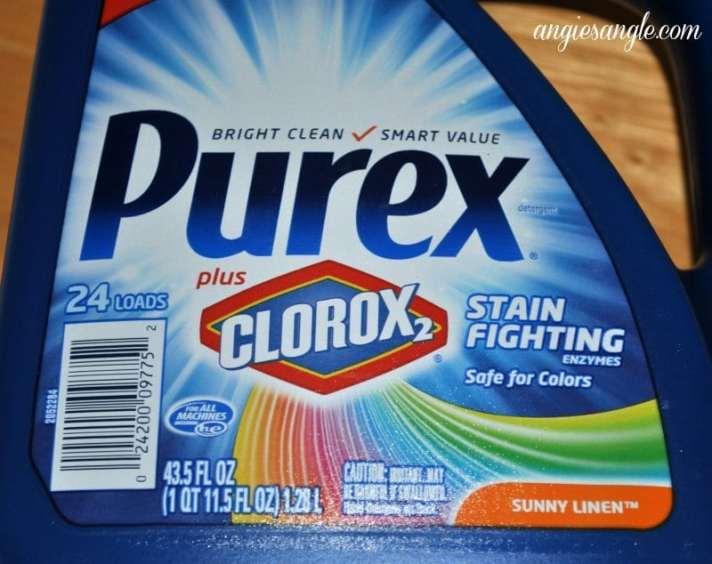 Stain Fighting With Purex - Purex Bottle