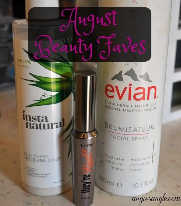 August Beauty Faves #BeautyMonday