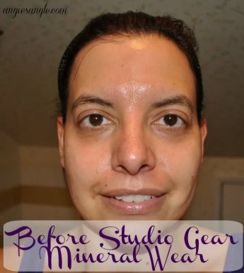 Before Results Using Studio Gear Mineral Wear