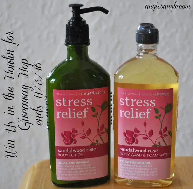 Stress Relief Products Giveaway – ends 11/3