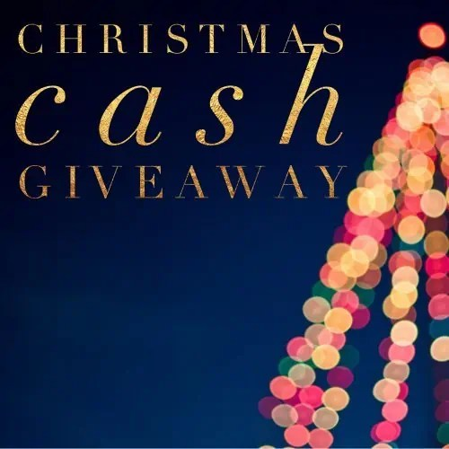 Christmas Cash Giveaway ends 1/7/17