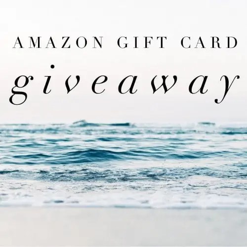 December Amazon Gift Card Giveaway ends 1/26/17