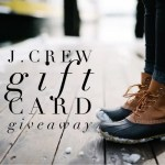 J. Crew Gift Card Giveaway