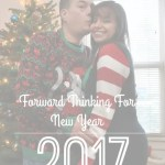 Forward Thinking for New Year
