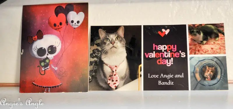 2017 Catch the Moment 365 Week 7 - Day 43 - Valentine Cards