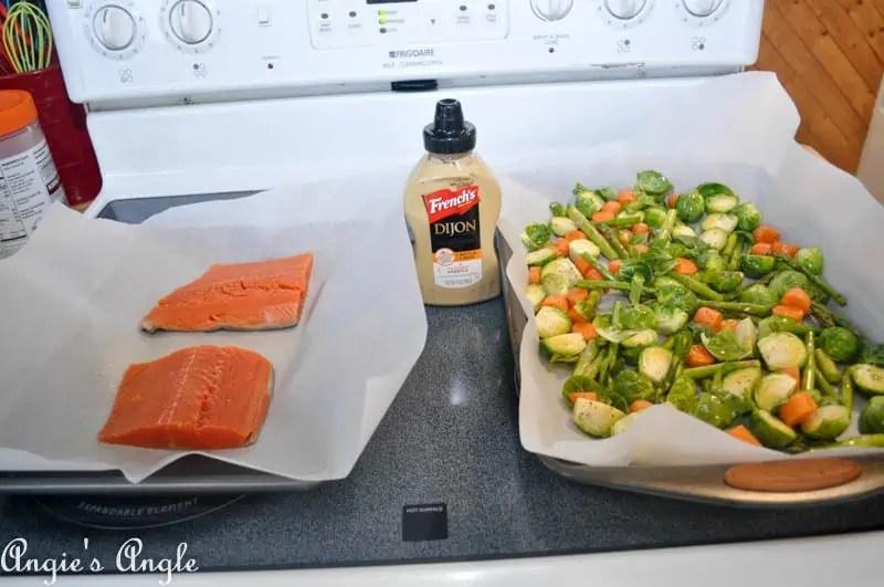 2017 Catch the Moment 365 Week 11 - Day 73 - Dijon Mustard Dinner