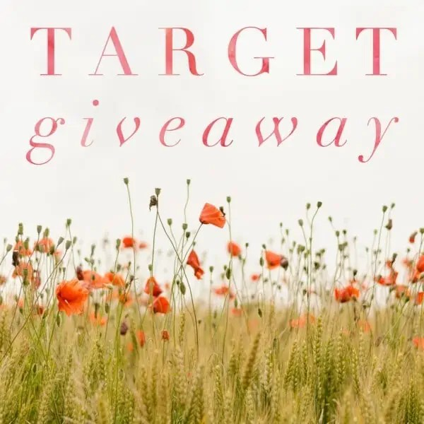 March Target Insta Giveaway ends 4/21/17