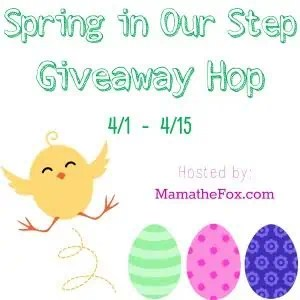 Spring in Our Step Giveaway Hop