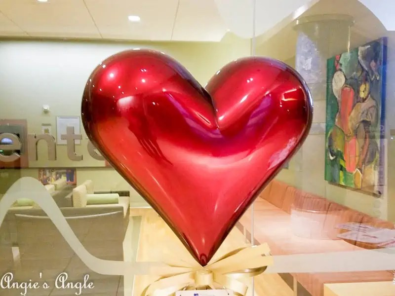 2017 Catch the Moment 365 Week 13 - Day 85 - Heart at Hospital