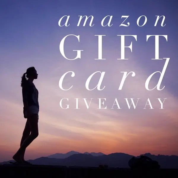 April Amazon Giveaway ends May 10, 2017