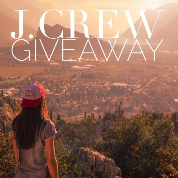 April J. Crew Giveaway ends May 8, 2017