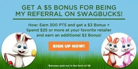 Join Swagbucks in April