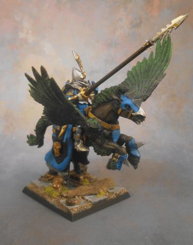 Dark Elf Pegasus Hero