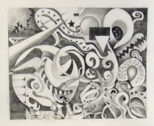 Abstract Drawing Day' Work