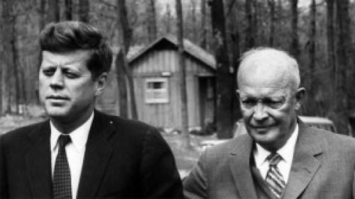 Kennedy and Eisenhower