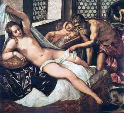 Vulcan surprises Venus and Mars by Tintoretto Venus & All Want to Be Marilyn Monroes