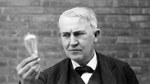 Thomas Edison Pressure at the Highest Level (1/3)
