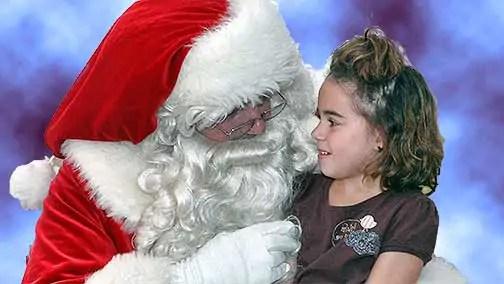on santas lap1 A Gift for Santa