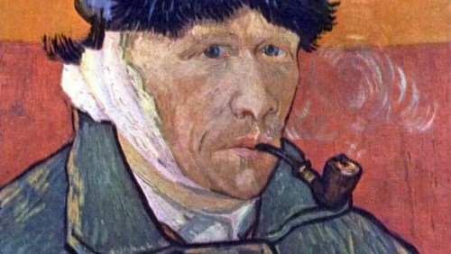 van gogh self portrait with bandaged ear and pipe1 The Story Behind van Goghs Self Portrait with Bandage