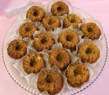 Hawaiian Mini Cakes