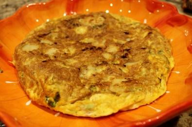 potato broccoli cheese Frittata