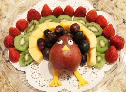 Turkey Fruit Dish