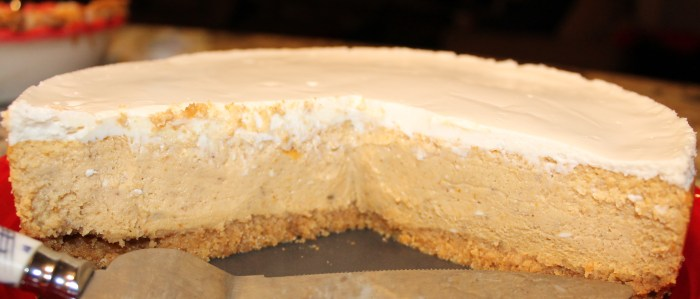 Awesome 8-inch Pumpkin Cheesecake