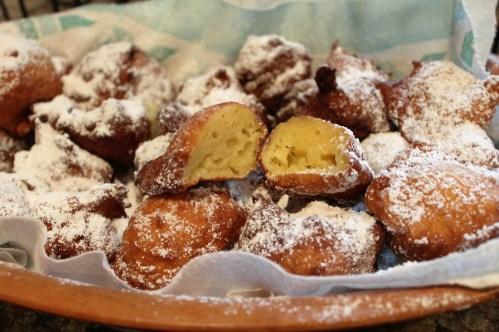 Zeppole -Fried Dough Balls