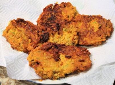 Sweet Potato Latkes