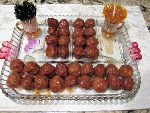 Honey Bourbon Meatballs-Slow Cooker