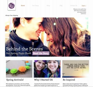 UA March Website